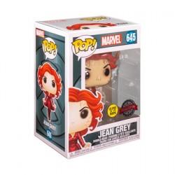 Figurine Pop! Phosphorescent Marvel Jean Grey Edition Limitée Funko Boutique en Ligne Suisse