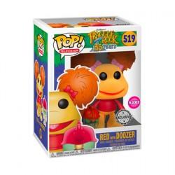 Figurine Pop! Floqué Fraggle Rock Red avec Doozer Edition Limitée Funko Boutique en Ligne Suisse