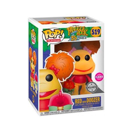 Figur Pop! Flocked Fraggle Rock Red with Doozer Limited Edition Funko Online Shop Switzerland