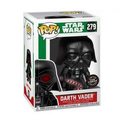 Figurine Pop! Phosphorescent Star Wars Holiday Darth Vader Chase Edition Limitée Funko Boutique en Ligne Suisse