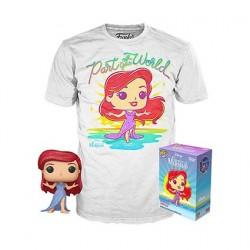 Figurine Pop! Diamond et T-shirt Disney La Petite Sirène Edition Limitée Funko Boutique en Ligne Suisse