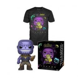 Figurine Pop! Métallique et T-shirt Avengers Infinity War Thanos Edition Limitée Funko Boutique en Ligne Suisse