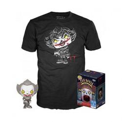 Figurine Pop! Noir et Blanc et T-shirt IT Pennywise avec Beaver Hat Edition Limitée Funko Boutique en Ligne Suisse