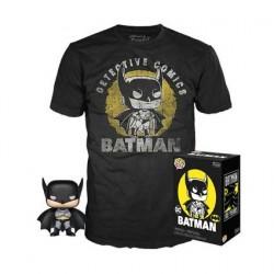 Figur Pop! and T-shirt DC Comics Batman Sun Faded Limited Edition Funko Online Shop Switzerland