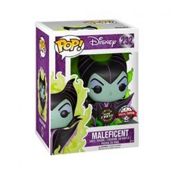 Figurine Pop! Phosphorescent Disney Maleficent Green Flame Chase Edition Limitée Funko Boutique en Ligne Suisse