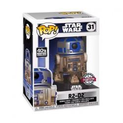 Figurine Pop! Star Wars R2-D2 Dagobah Edition Limitée Funko Boutique en Ligne Suisse