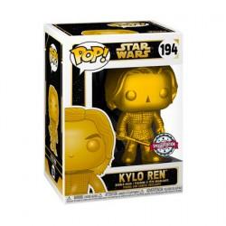 Figurine Pop! Métallique Star Wars Kylo Ren Gold Edition Limitée Funko Boutique en Ligne Suisse