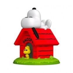 Figurine Pop! Peanuts Snoopy on Doghouse Deluxe Funko Boutique en Ligne Suisse