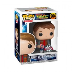 Figur Pop! Back to the Future Marty with Hoverboard Limited Edition Funko Online Shop Switzerland