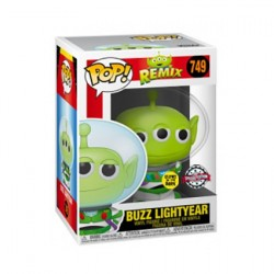 Figurine Pop! Phosphorescent Toy Story Alien Remix Buzz Lightyear Edition Limitée Funko Boutique en Ligne Suisse