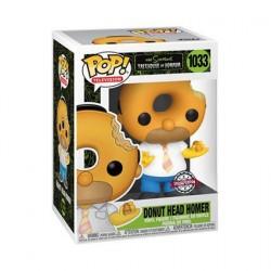 Figurine Pop! The Simpsons Homer Donut Head Edition Limitée Funko Boutique en Ligne Suisse