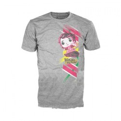 Figuren T-Shirt Zurück in die Zukunft Marty mit Hoverboard Funko Online Shop Schweiz