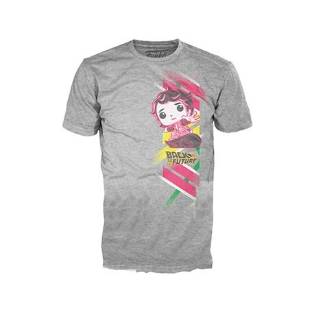 Figur T-Shirt Back to the Future Marty with Hoverboard Funko Online Shop Switzerland