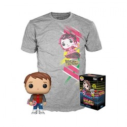 Figur Pop! and T-shirt Back to the Future Marty with Hoverboard Limited Edition Funko Online Shop Switzerland
