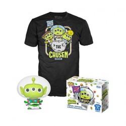 Figurine Pop! Phosphorescent et T-shirt Toy Story Alien en Buzz Edition Limitée Funko Boutique en Ligne Suisse