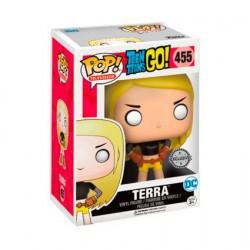 Figurine Pop! DC Teen Titans Go Terra Edition Limitée Funko Boutique en Ligne Suisse