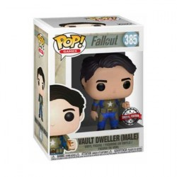 Figur Pop! Games Fallout Vault Dweller Male with Mentats Limited Edition Funko Online Shop Switzerland