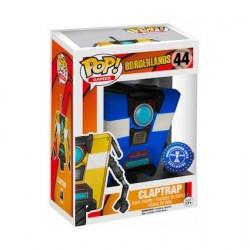 Pop! Games Borderlands Bleu Clap Trap Edition Limitée