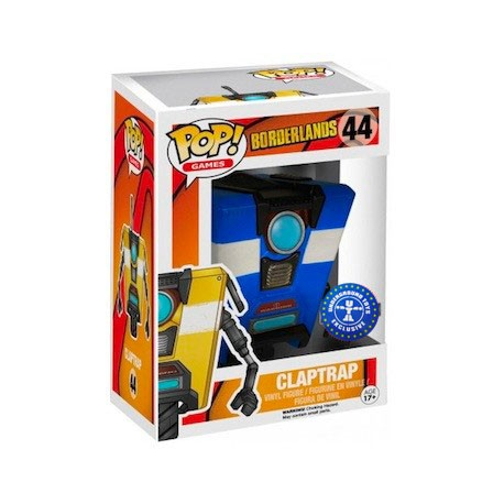 Figur Pop! Games Borderlands Blue Clap Trap Limited Edition Funko Online Shop Switzerland
