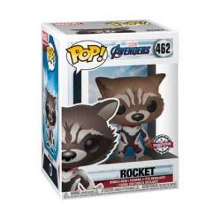 Figurine Pop! Marvel Avengers Endgame Rocket in Team Suit Edition Limitée Funko Boutique en Ligne Suisse