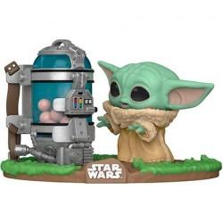 Figurine Pop! Deluxe Star Wars The Mandalorian The Child avec Boîte à Œufs (Baby Yoda) Funko Boutique en Ligne Suisse