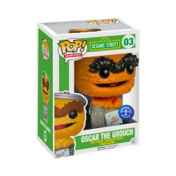 Pop! TV Sesame Street Orange Oscar Edition Limitée