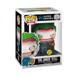 Figurine Pop! Phosphorescent DC Comics The Joker Death of the Family Edition Limitée Funko Boutique en Ligne Suisse