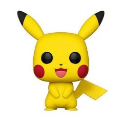 Figurine Pop! Pokemon Pikachu (Rare) Funko Boutique en Ligne Suisse
