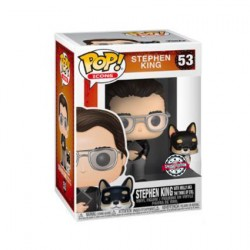 Figur Pop! Stephen King with Molly Limited Edition Funko Online Shop Switzerland