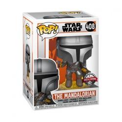 Figurine Pop! Star Wars The Mandalorian avec Jetpack Edition Limitée Funko Boutique en Ligne Suisse