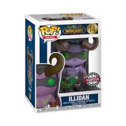 Figurine Pop! Métallique World of Warcraft Illidan Blizzard 30th Anniversary Edition Limitée Funko Boutique en Ligne Suisse