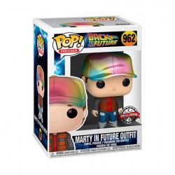 Figur Pop! Metallic Back To The Future Marty in Future Outfit Limited Edition Funko Online Shop Switzerland