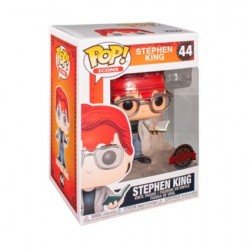 Figur Pop! Stephen King with Axe and Book Limited Edition Funko Online Shop Switzerland