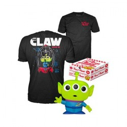 Figurine Pop! Glitter et T-Shirt Toy Story Alien Edition Limitée Funko Boutique en Ligne Suisse
