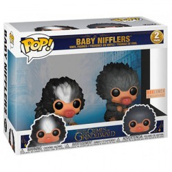 Figur Pop! Fantastic Beasts 2 Baby Nifflers Black and Grey 2-Pack Limited Edition Funko Online Shop Switzerland