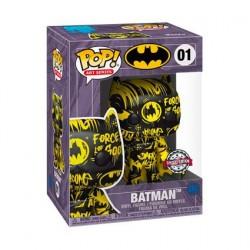 Figur Pop! Artist Series Batman Black and Yellow Hard Acrylic Protector Limited Edition Funko Online Shop Switzerland