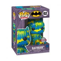 Figur Pop! Artist Series Batman Blue and Yellow Hard Acrylic Protector Limited Edition Funko Online Shop Switzerland