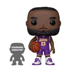 Figurine Pop! 25 cm NBA Lakers LeBron James Purple Jersey Funko Boutique en Ligne Suisse