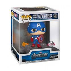 Figur Pop! Deluxe Avengers Assemble Captain America Limited Edition Funko Online Shop Switzerland