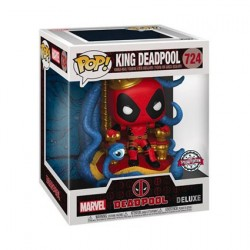 Figur Pop! Deluxe Metallic Deadpool King Deadpool on Throne Limited Edition Funko Online Shop Switzerland