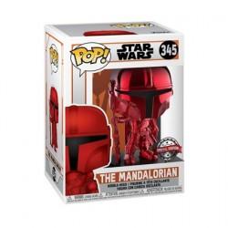 Figurine Pop! Chrome Rouge Star Wars The Mandalorian Edition Limitée Funko Boutique en Ligne Suisse