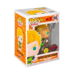Figur Pop! Glow in the Dark Dragon Ball Z Gohan Super Saiyan Limited Edition Funko Online Shop Switzerland