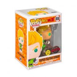 Figurine Pop! Phosphorescent Dragon Ball Z Gohan Super Saiyan Edition Limitée Funko Boutique en Ligne Suisse