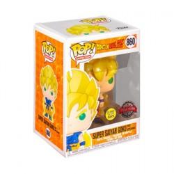 Figurine Pop! Phosphorescent Dragon Ball Z Goku Super Saiyan Edition Limitée Funko Boutique en Ligne Suisse