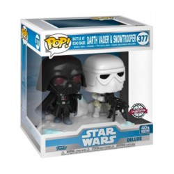 Figur Pop! Star Wars The Empire Strikes Back Darth Vader & Stormtrooper Battle at Echo Base Deluxe Limited Edition Funko Onli...