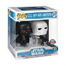 Figuren Pop! Star Wars The Empire Strikes Back Darth Vader & Stormtrooper Battle at Echo Base Deluxe Limitierte Auflage Funko...