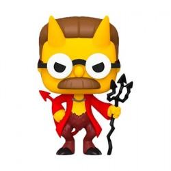 Figurine Pop! The Simpsons Devil Flanders Funko Boutique en Ligne Suisse