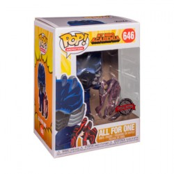 Figurine Pop! My Hero Academia All For One Battle Hand Limited Edition Funko Boutique en Ligne Suisse