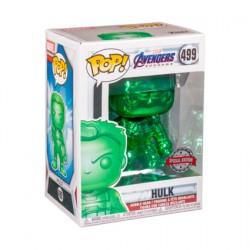 Figuren Pop! Marvel Endgame Hulk Grün Chrome Limitierte Auflage Funko Online Shop Schweiz