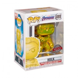 Figuren Pop! Marvel Endgame Hulk Gelb Chrome Limitierte Auflage Funko Online Shop Schweiz